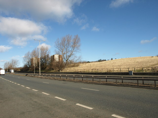 A167, view towards Harlow Green