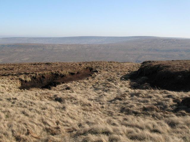 Peat Haggs below Chapelfell Top