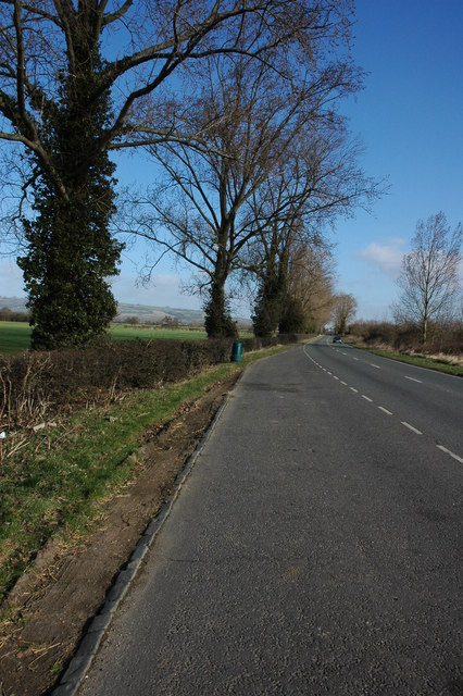 The A435 past Oxenton