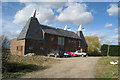 TQ7642 : Clarkes Oast, Five Oak Lane, Staplehurst, Kent by Oast House Archive