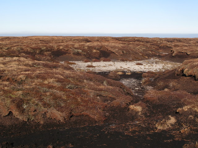 Dry lough on Chapelfell Top