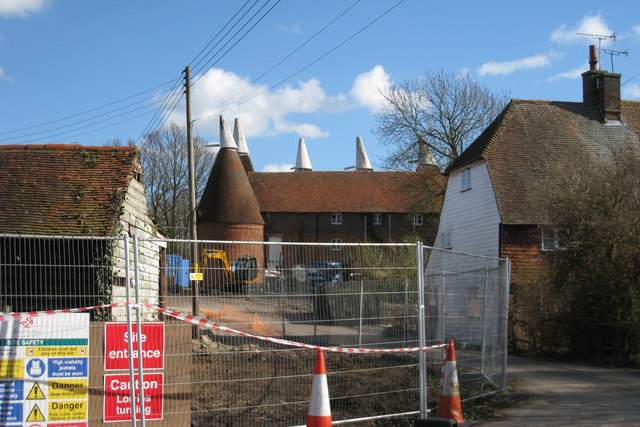 Castlemaine Oast House, Maidstone Road, Horsmonden, Kent