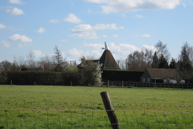 Oast House at Chequer Tree Farm, Collier Street, Kent