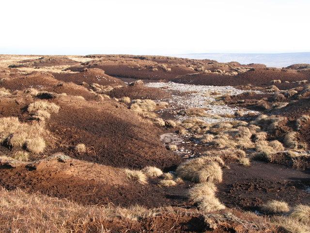 Peat haggs on Chapelfell Top (7)