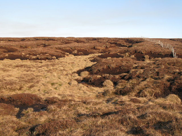 Harthope Moss below Chapelfell Top