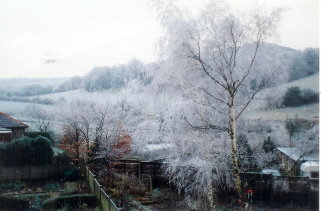 Winter on Fulstone Lane, New Mill