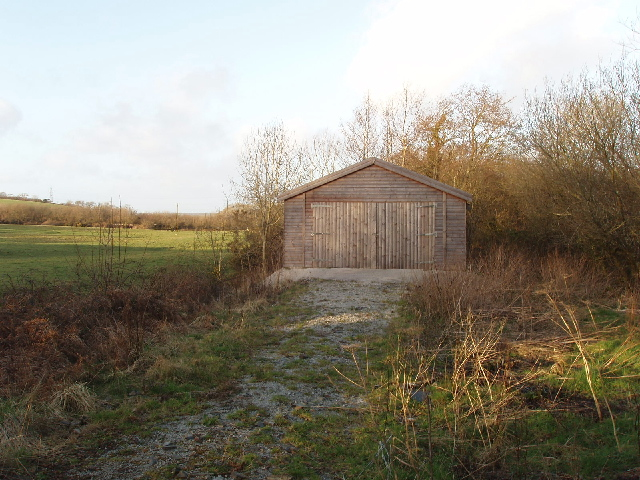 Shed at Otterham Mill