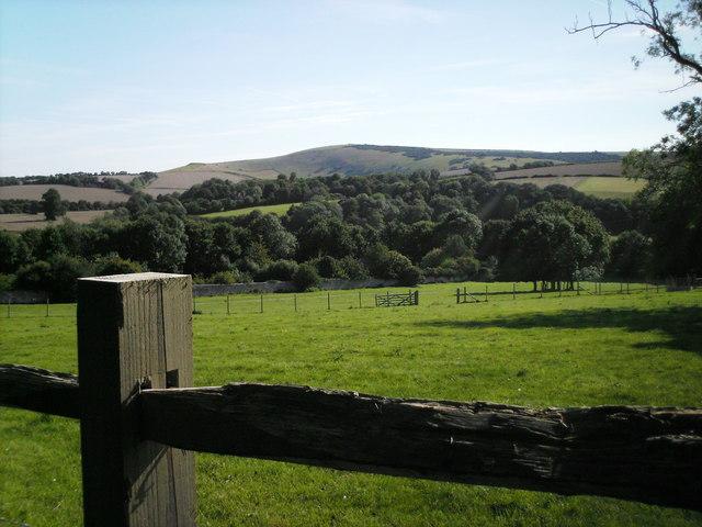 Fields near Alfriston