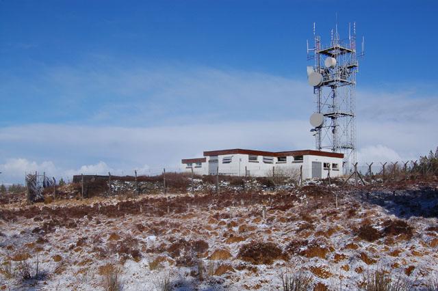 Radio Station above Kinloch