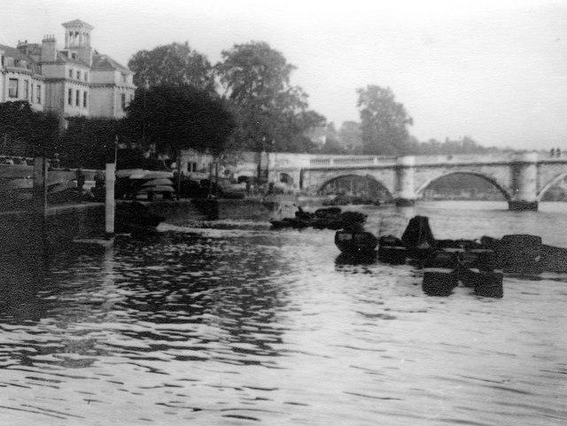 River Thames Richmond Bridge
