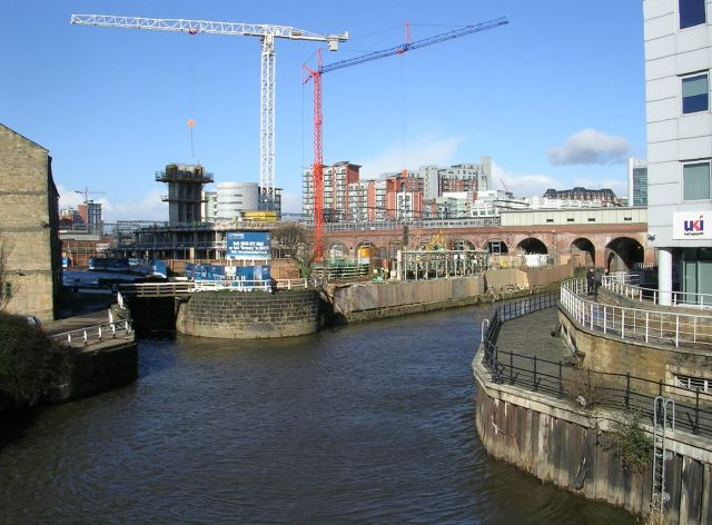River Aire - from Neville Street Bridge