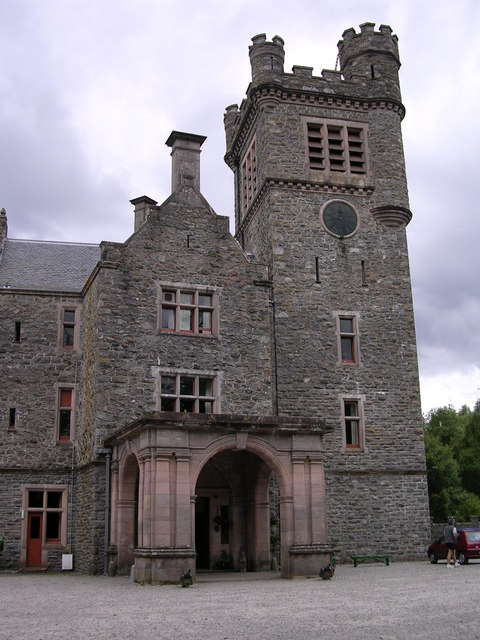 Carbisdale castle near Invershin