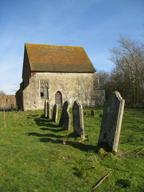 Remains of St Mary's Church