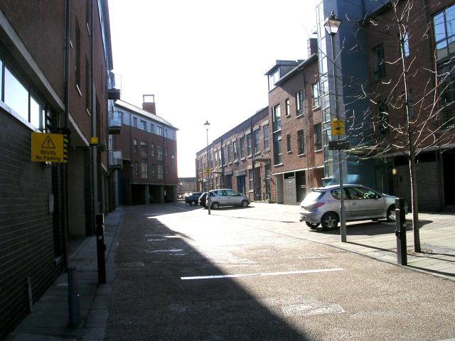 Butcher Street - Water Lane
