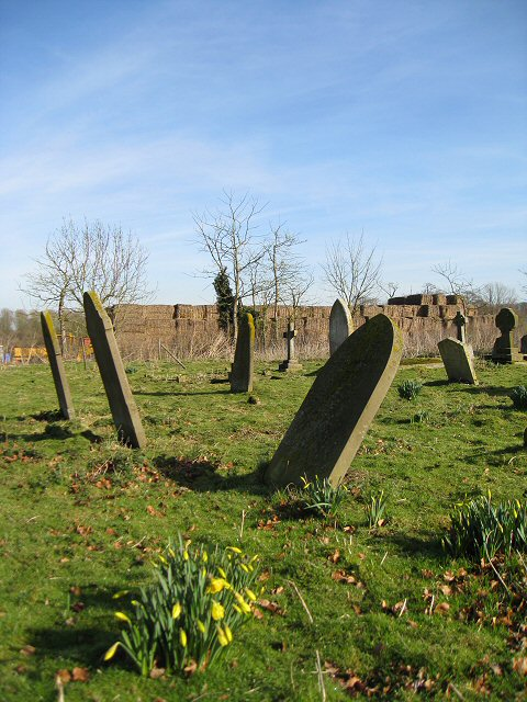 The graveyard at St Mary's Church