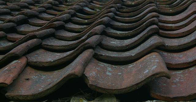Roof Tiles at Brown Head Farm (2)