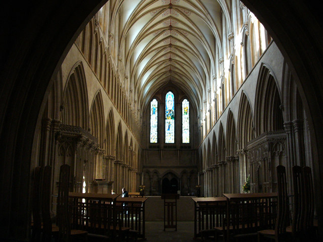Wells Cathedral, the nave