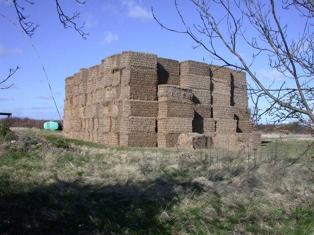 Straw Bale Castle
