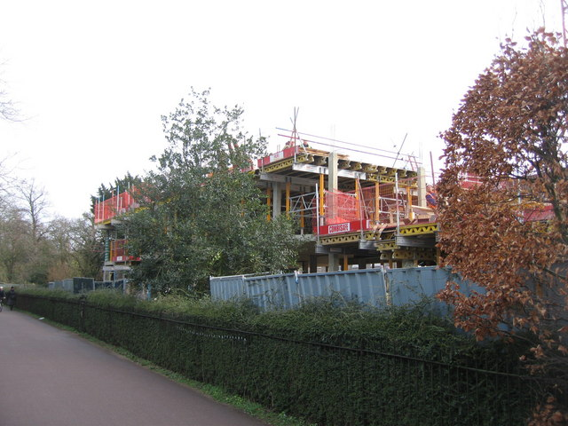 New buildings on the Memorial Court site - Clare College