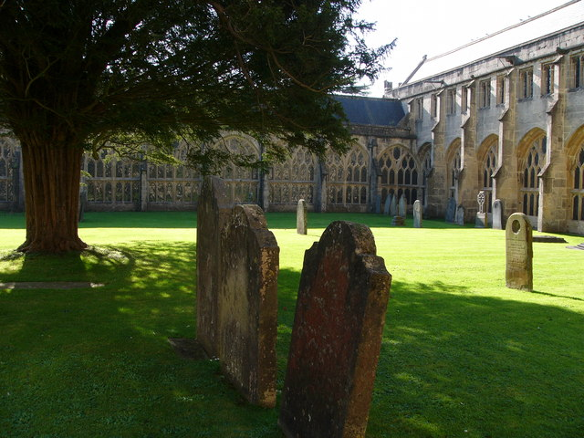 Wells Cathedral, the cloister