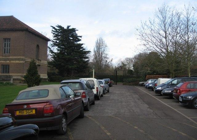 University Library car park