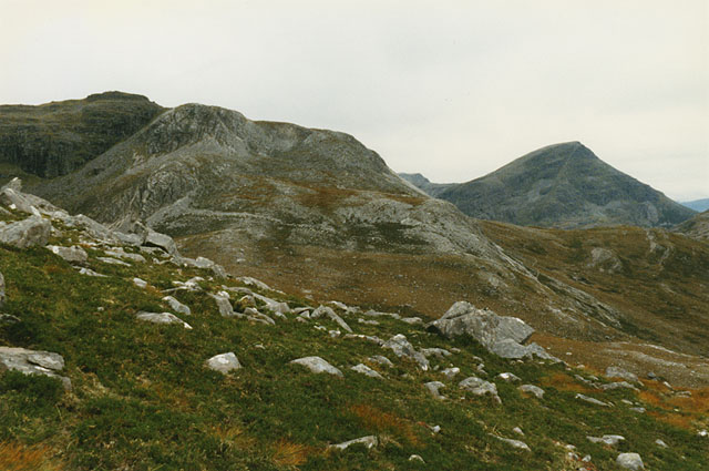 Western slopes of Beinn Liath Mhor
