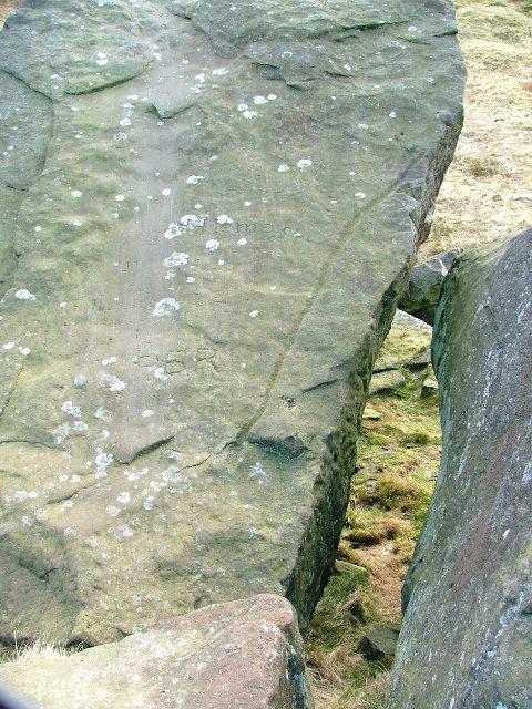 Detail of Prehistoric Rock Art