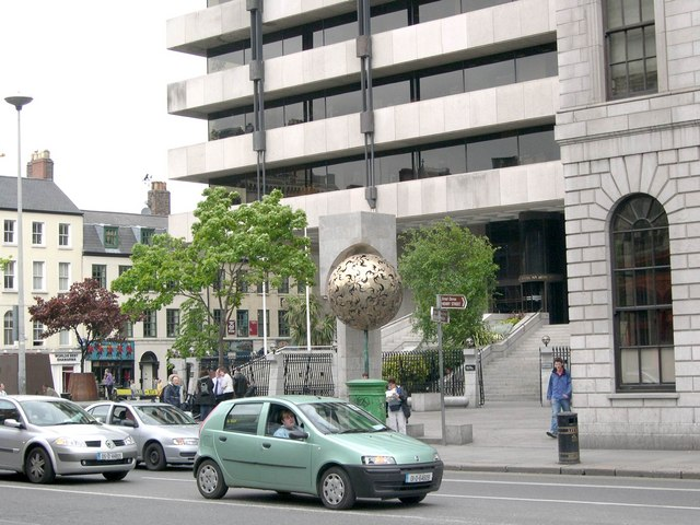 Central Bank of Ireland, Dame Street, Dublin