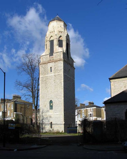 St George's Tower, Tufnell Park Road, Tufnell Park, London N7