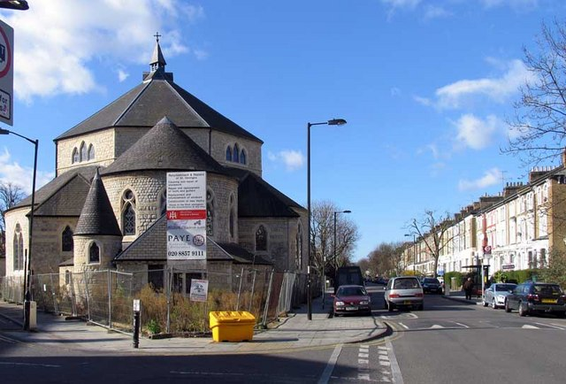St George, Tufnell Park Road, Tufnell Park, London N7