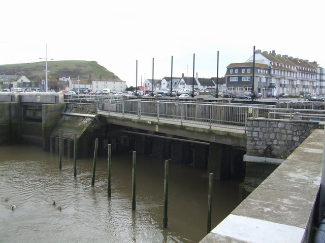 Sluices on the River Brit