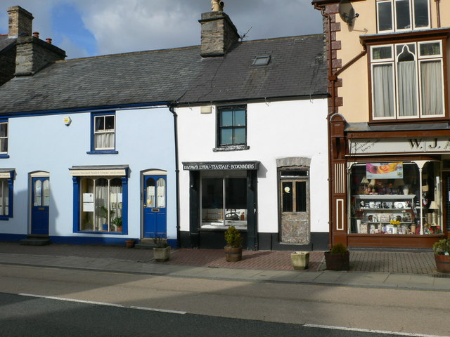 Bridge Street shops, Corwen