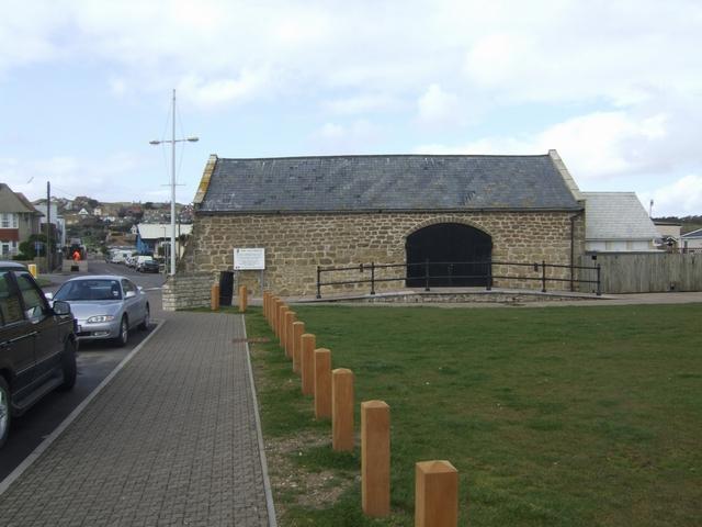 Salt Store at Bridport Harbour