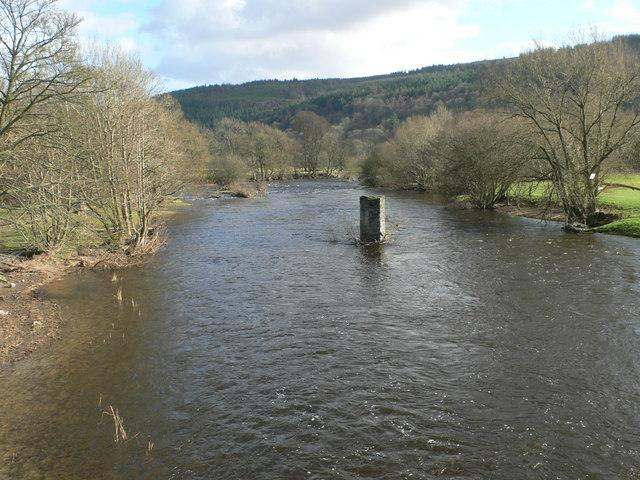 The River Dee at Corwen