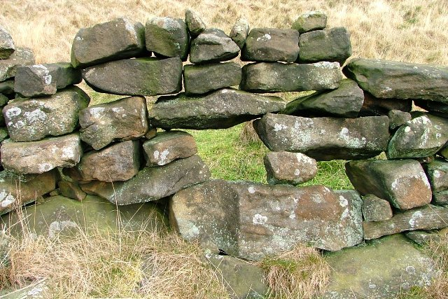 Precarious Stone Wall