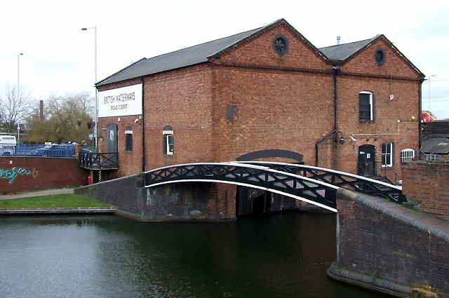 Broad Street Canal Depot, Wolverhampton