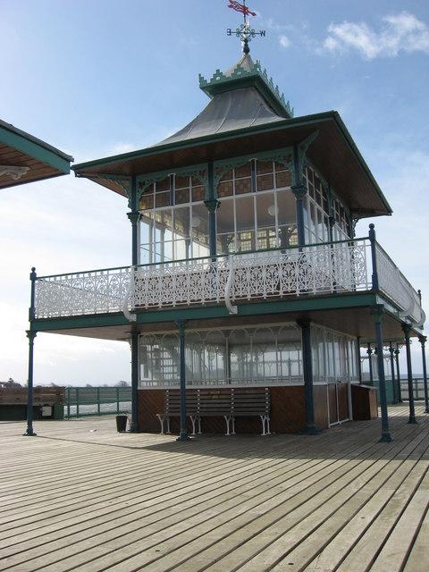 Pavilion on Clevedon Pier head