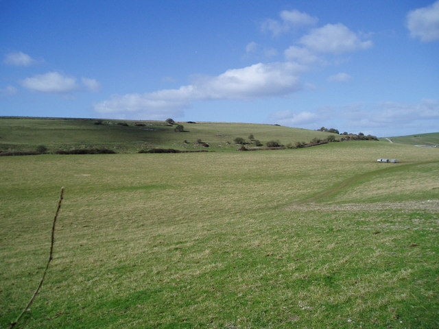 Grazing land on South Downs
