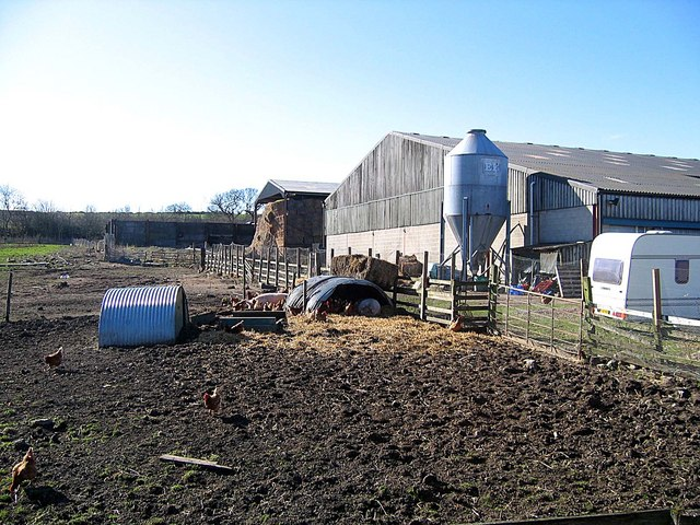 Farm Buildings at Aldin Grange