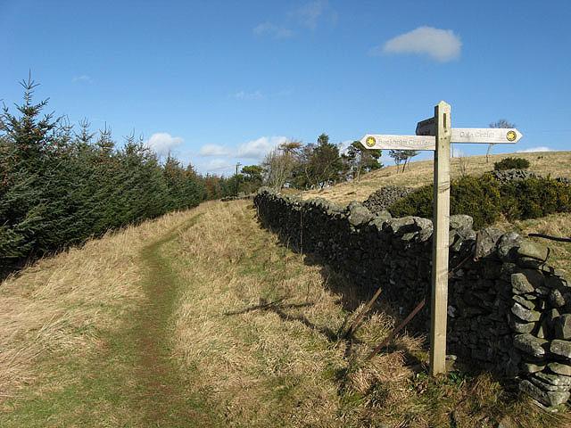 The Buckholm circular route