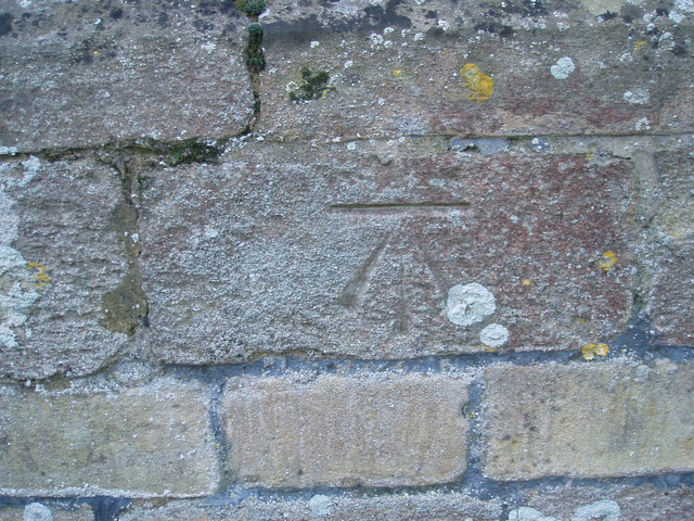 OS Benchmark on St Andrews Church Steeple Gidding