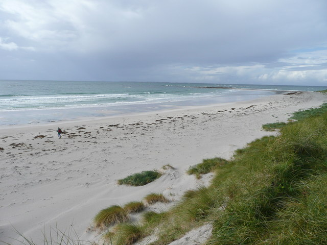 Lagan Arnal from the dunes