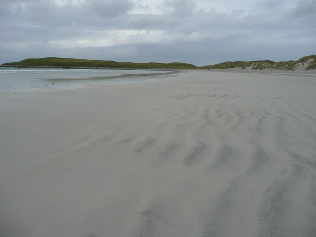 Traigh Iar looking towards Udal
