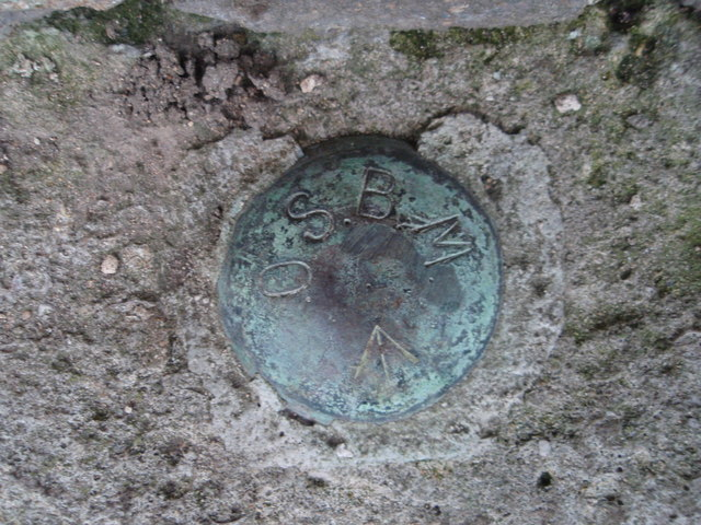 OS Benchmark Bolt St Botolphs church Boston