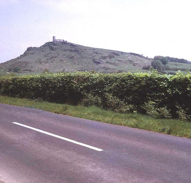 Lane south of Brentor