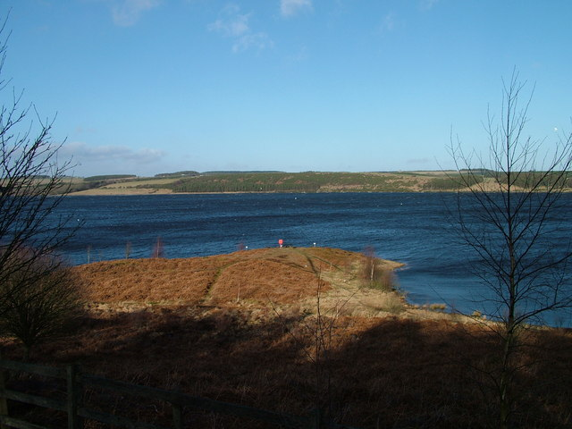 Derwent Reservoir from Pow Hill Country Park