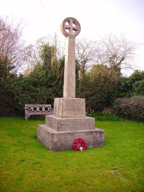 Longstock - War Memorial