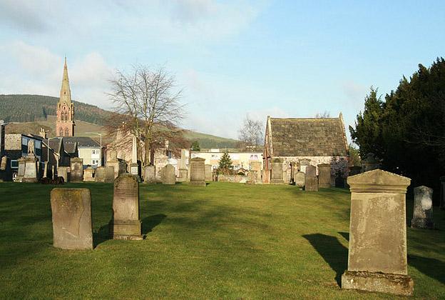 Old Galashiels Parish Church burial ground