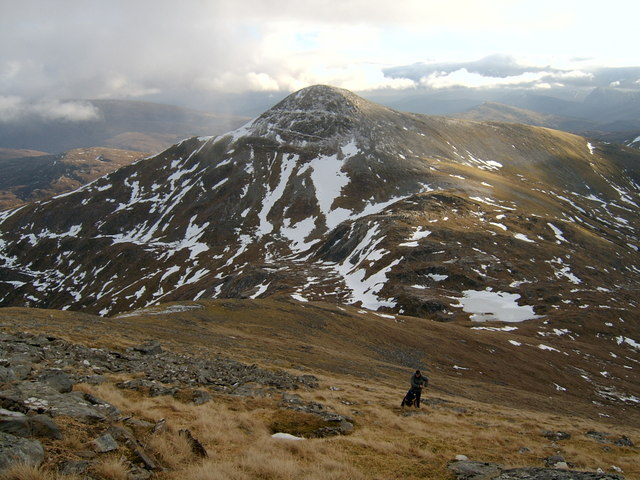 Stob Choire Claurigh, southern slopes