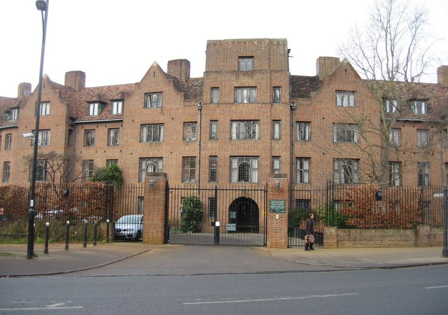 Fisher Building, Fisher Gate - Queens' College